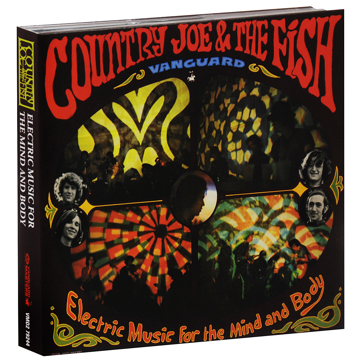 Country Joe & The Fish Country Joe & The Fish. Electric Music For The Mind And Body (2 CD)