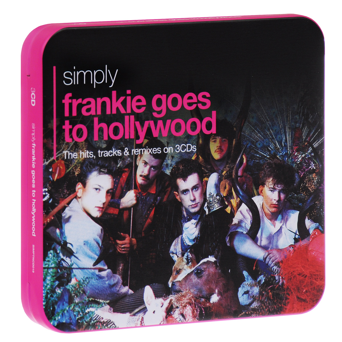 Frankie Goes To Hollywood Frankie Goes To Hollywood. Simply Frankie Goes To Hollywood (3 CD) marcel goes to hollywood level 1 cd