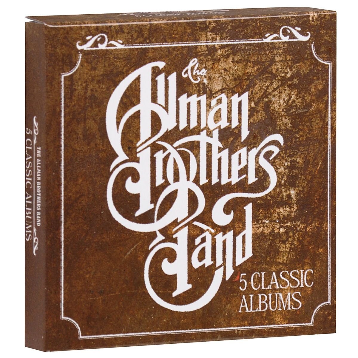 The Allman Brothers Band,The Allman Brothers Band The Allman Brothers Band. 5 Classic Albums (5 CD) the band the band islands