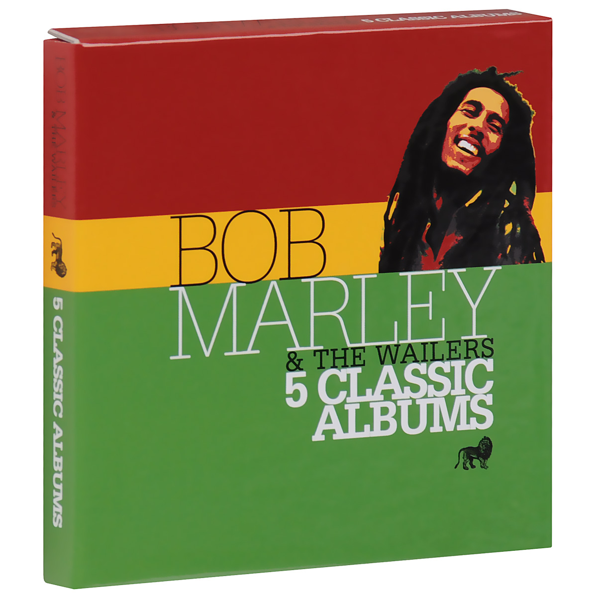 Боб Марли,The Wailers Bob Marley & The Wailers. 5 Classic Albums (5 CD) the jam the jam all mod cons lp