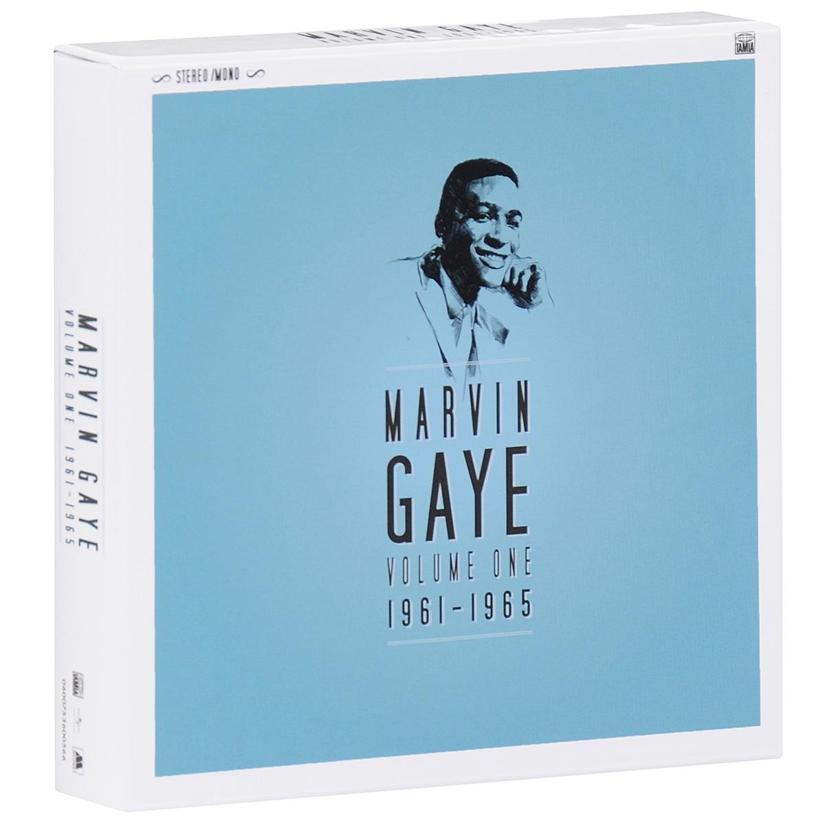 лучшая цена Марвин Гэй Marvin Gaye. Volume One. 1961 - 1965 (7 CD)