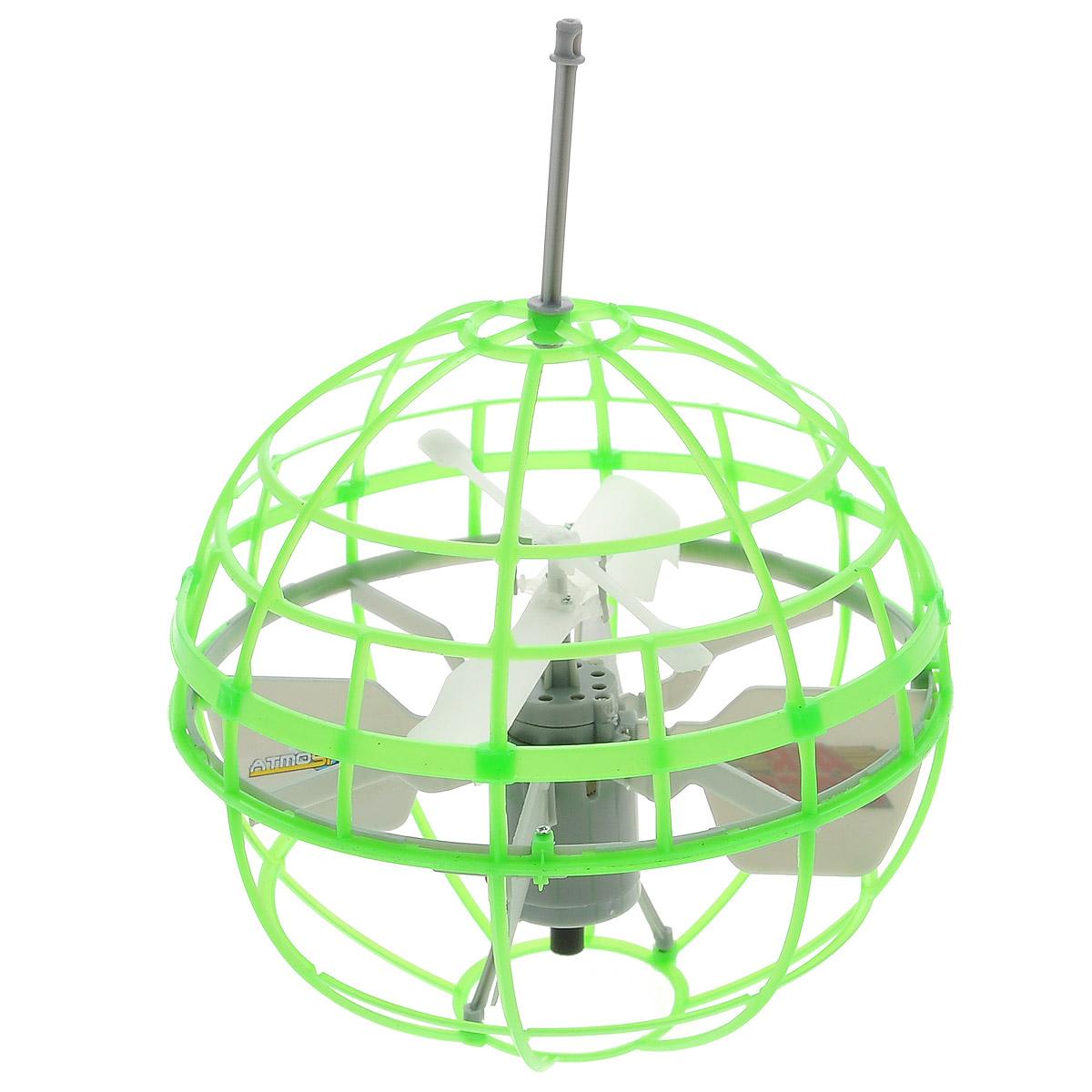 Air Hogs Игрушка на радиоуправлении Atmosphere Axis цвет зеленый