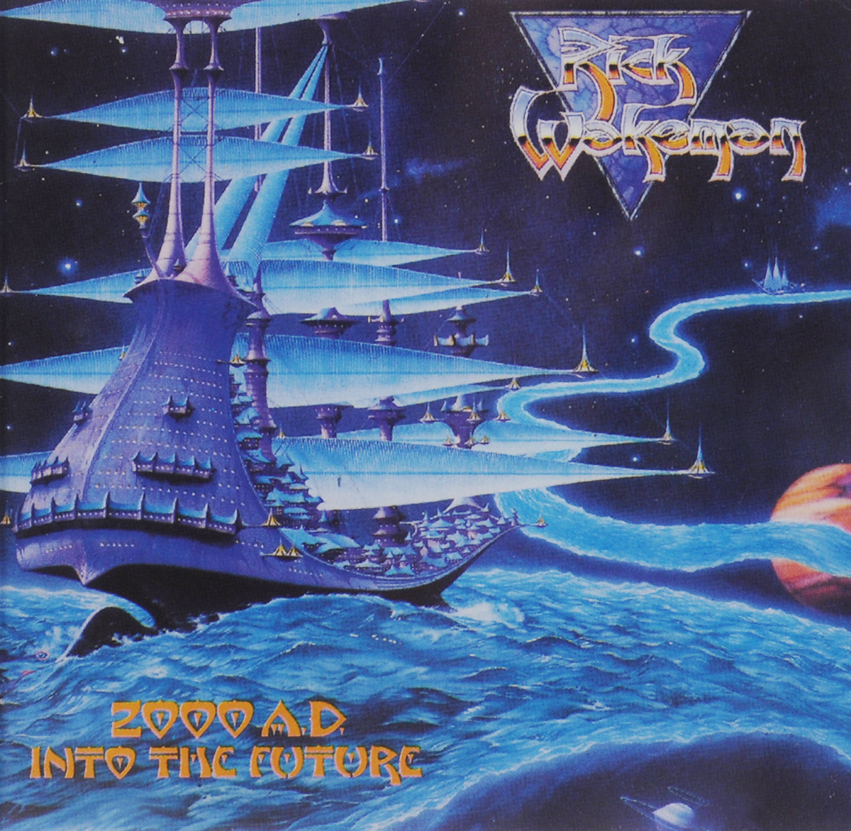 Рик Уэйкман Rick Wakeman. 2000 A.D. Into The Future пленка тонировочная president 5% 0 5м х 3м