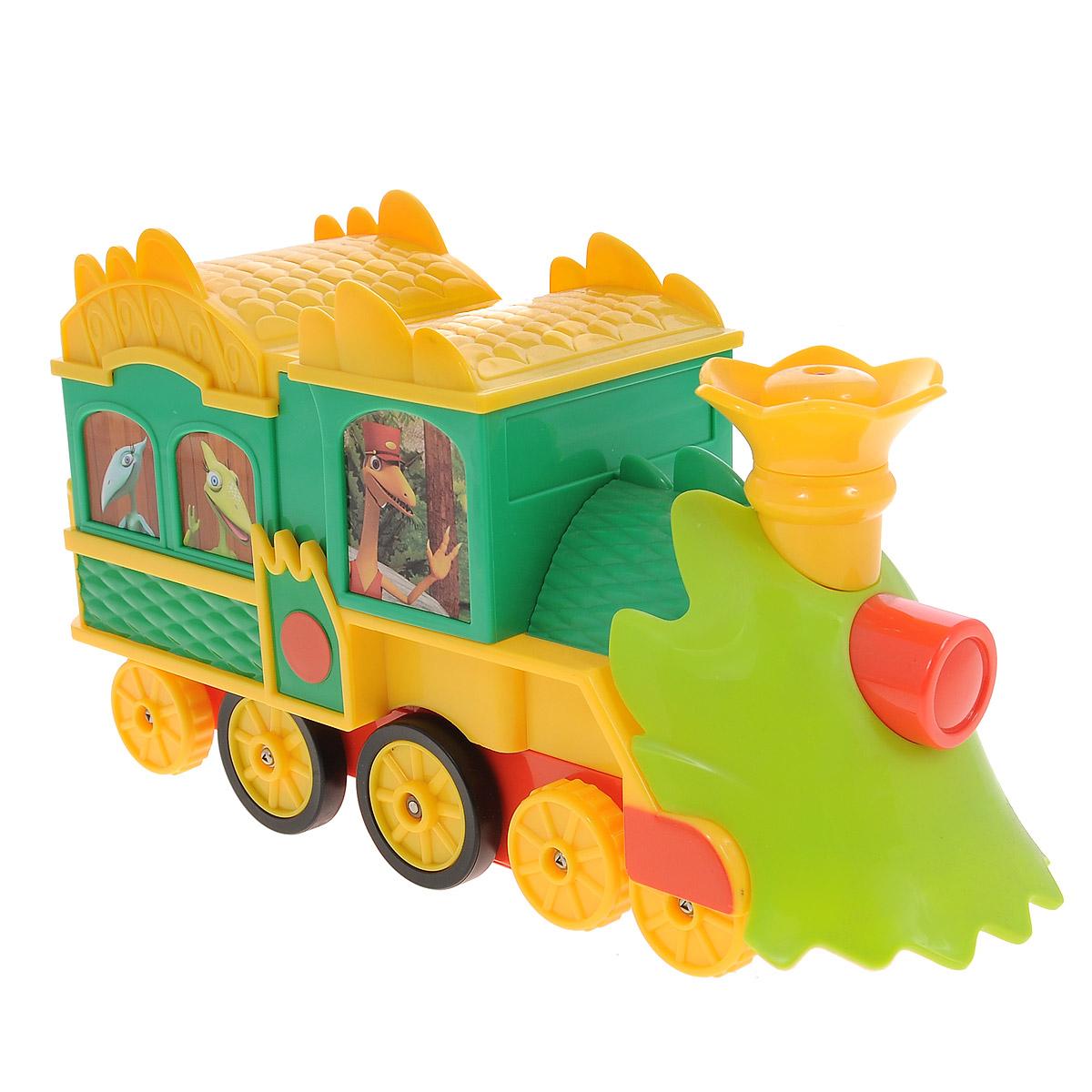 Tomy Игрушка на радиоуправлении Поезд Динозавров Путешествие во времени - Радиоуправляемые игрушки