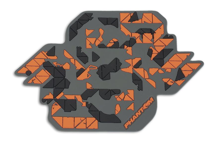 Коврик антискользящий Phantom Мозайка, 15 х 11 см5016Коврик антискользящий Phantom Мозайка изготовлен из полимера. Он прочно удерживает предметы на приборной панели при резких маневрах или поворотах. Изделие прикрепляется к любой горизонтальной поверхности. С этим ковриком вы не будете бояться за свой телефон или другие предметы!