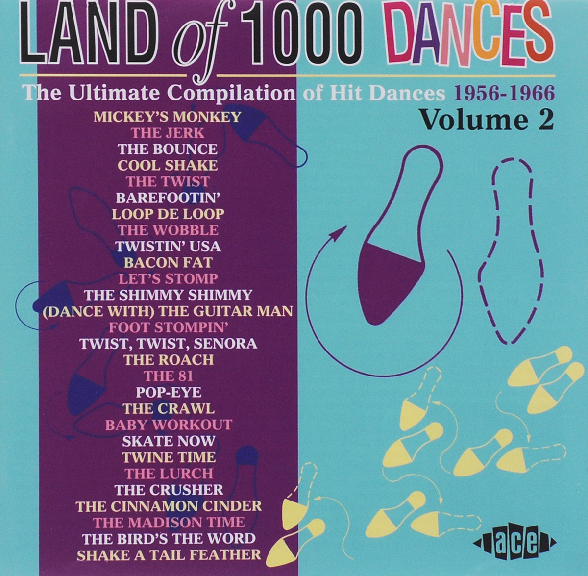 Land Of 1000 Dances. Volume 2