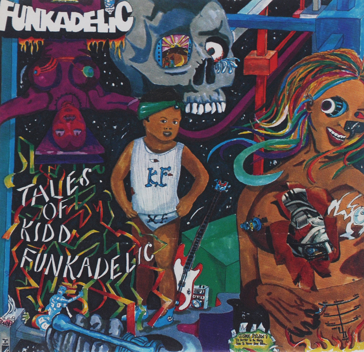 Funkadelic Funkadelic. Tales Of Kidd Funkadelic funkadelic funkadelic the electric spanking of war babies lp