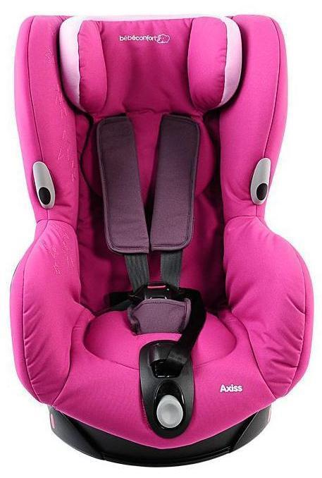 Автокресло Bebe Confort Axiss гр.1 Sweet pink
