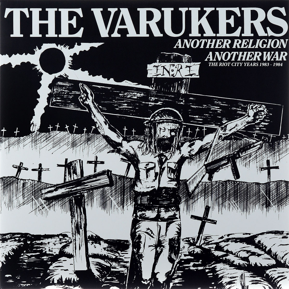 The Varukers The Varukers. Another Religion Another War. The Riot City Years 1983-1984. Limited Edition (2 LP) space deliverance limited edition glow in the dark vinyl lp