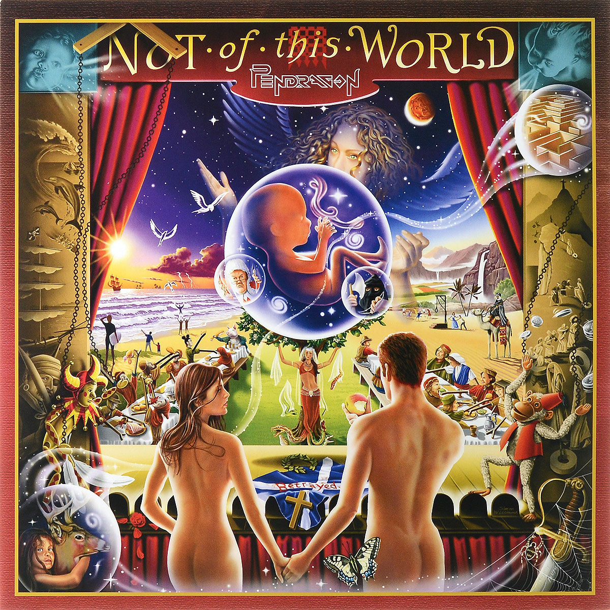Pendragon Pendragon. Not Of This World (2 LP) pendragon pendragon not of this world 2 lp