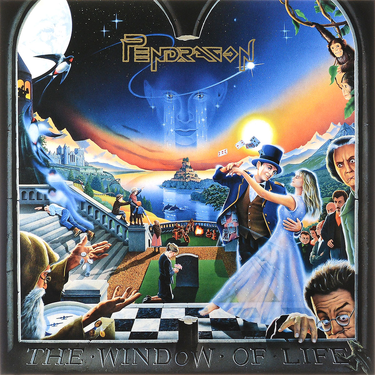 Фото - Pendragon Pendragon. The Window Of Life. 21st Anniversary Deluxe Edition (2LP) cd led zeppelin ii deluxe edition