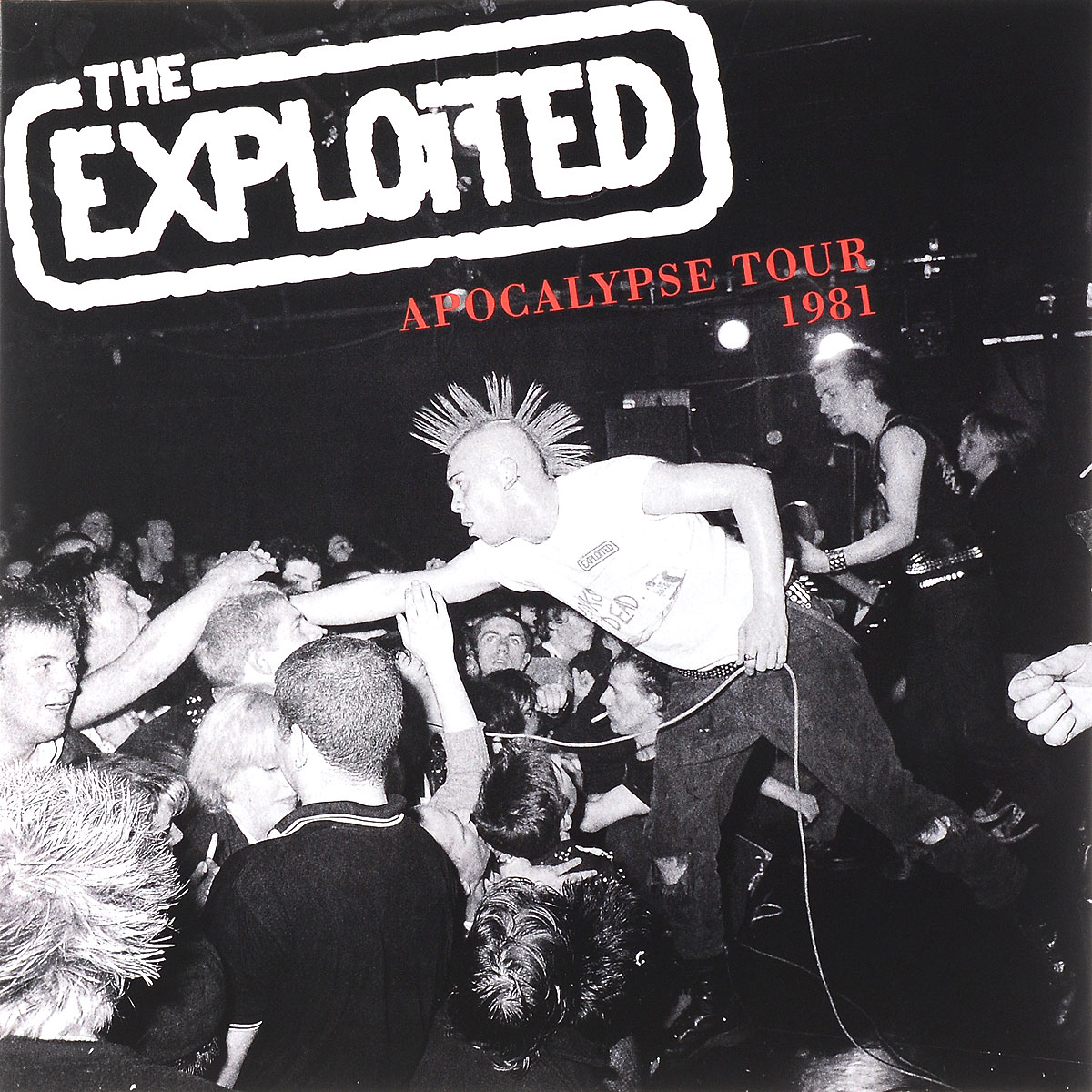 The Exploited The Exploited. Apocalypse Tour 1981. Limited Edition (LP) space deliverance limited edition glow in the dark vinyl lp