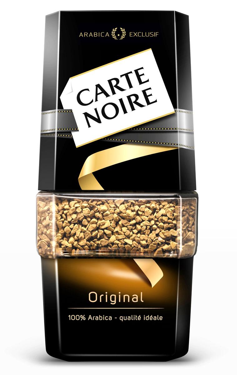 Carte Noire Original кофе растворимый, 95 г кофе carte noire карт нуар молотый велюр арабика 250г пакет франция