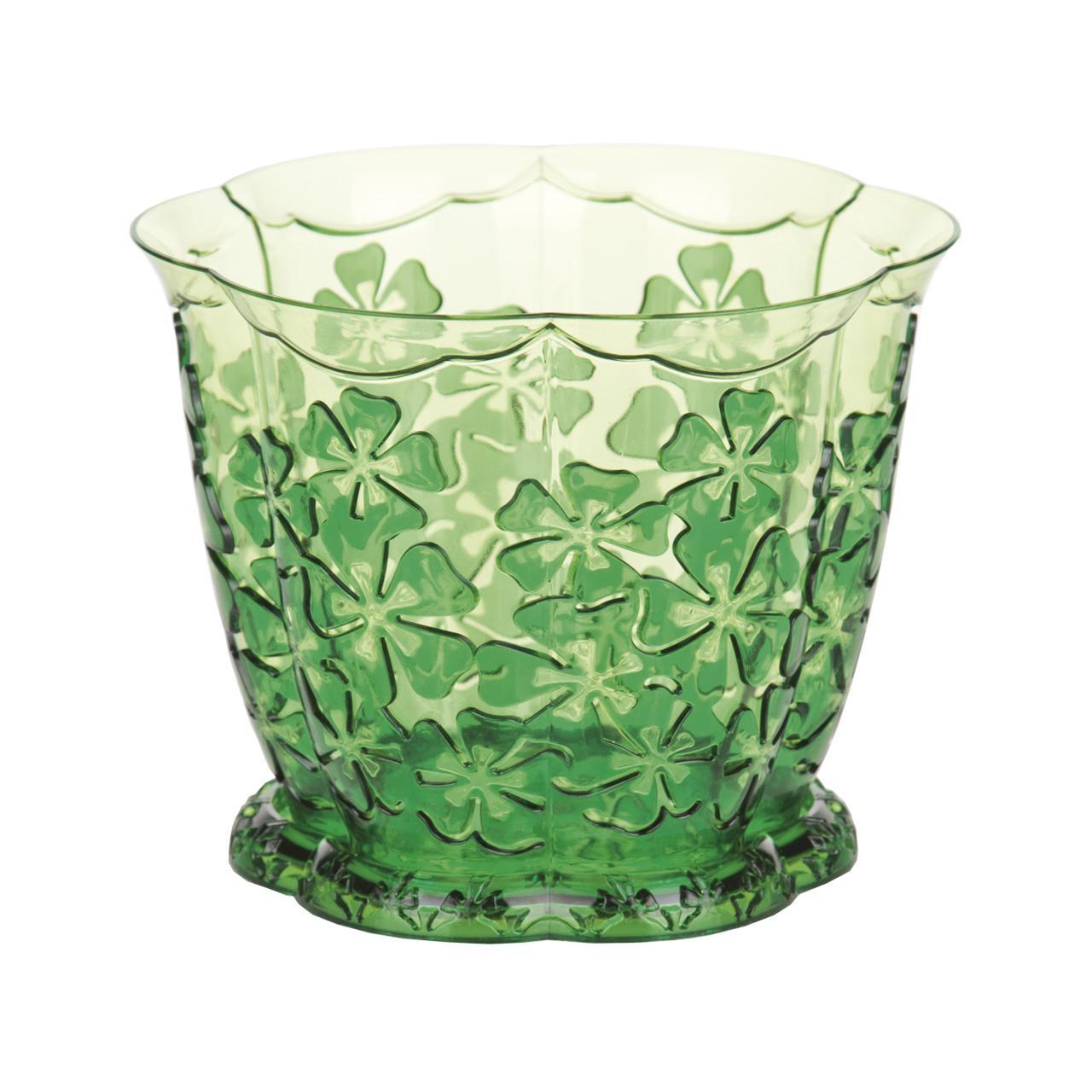 Горшок для орхидей Камелия, с поддоном, цвет: зеленый, 1,5 лМ2210Горшок для цветов Камелия представляет собой пластиковую емкость и подставку, декорированную цветочным орнаментом. Горшок прозрачный, что позволяет посадить туда орхидеи. Горшок имеет стильный дизайн, поэтому прекрасно впишется в любой интерьер. Диаметр по верхнему краю: 16 см. Объем горшка: 1,5 л.