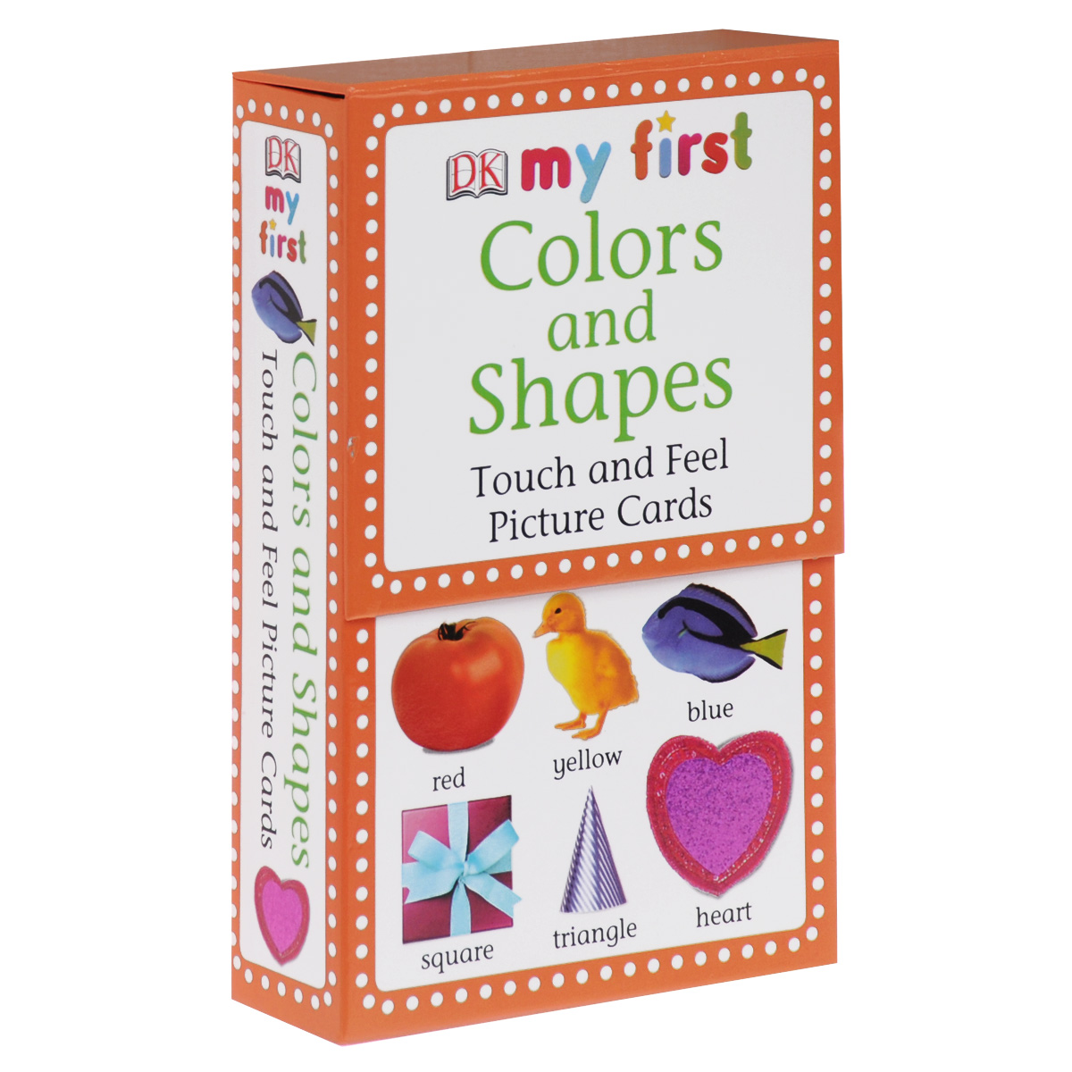 Feel Picture Cards: Colors & Shapes