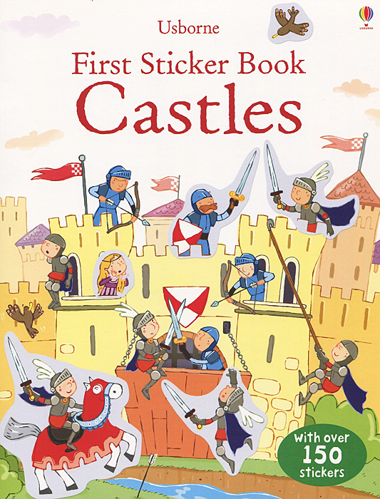 First Sticker Book: Castles keys to the castle