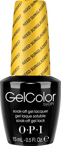 OPI Гель-лак GelColor Need Sunglasses?, 15 млGCB46GELCOLOR от OPI. ГЕЛЬКОЛОР это 100% гель в лаковом флаконе! В отличие от гелей-лаков, из-за отсутствия лаковой составляющей ГЕЛЬКОЛОР не подвержен сколам и трещинам. Ультра-быстрое светоотверждение в LED-лампе OPI! Всего лишь 4 минуты на все слои включая базу и верхнее покрытие на всех пальцах! Не требует шлифовки ногтей перед нанесением и опиливания при снятии, а значит — не травмирует ногти! Снимается за 15 минут отмачиванием.ГЕЛЬКОЛОР - экономичен! ГЕЛЬКОЛОР - это высочайшее качество OPI по доступной цене. Оттенки легендарных лаков OPI при желании можно наносить поверх ГЕЛЬКОЛОР. Сравните стоимость ГЕЛЬКОЛОР с другими марками и Вы увидите разницу!Стойкое и сияющее покрытие на недели вперед с GELCOLOR.ГЕЛЬКОЛОР это 100% гель в лаковом флаконе! В отличие от гелей-лаков, из-за отсутствия лаковой составляющей ГЕЛЬКОЛОР не подвержен сколам и трещинам.Ультра-быстрое светоотверждение в LED-лампе OPI! Всего лишь 4 минуты на все слои включая базу и верхнее покрытие на всех пальцах!Не требует шлифовки ногтей перед нанесением и опиливания при снятии, а значит — не травмирует ногти! Снимается за 15 минут отмачиванием.ГЕЛЬКОЛОР - экономичен! ГЕЛЬКОЛОР - это высочайшее качество OPI по доступной цене.Повторяют оттенки легендарных лаков OPI, которые при желании можно наносить поверх ГЕЛЬКОЛОР.Сравните стоимость ГЕЛЬКОЛОР с другими марками и Вы увидите разницу!Стойкое и сияющее покрытие на недели вперед с GELCOLOR.