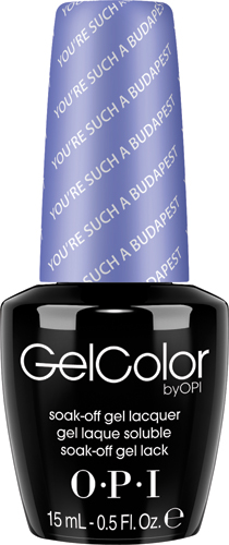 """OPI Гель-лак GelColor """"You're Such a BudaPest"""", 15 мл"""