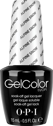 "OPI Гель-лак GelColor ""Alpine Snow"", 15 мл"