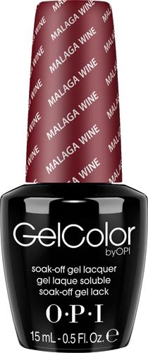 OPI Гель-лак GelColor Malaga Wine, 15 млGCL87GELCOLOR от OPI. ГЕЛЬКОЛОР это 100% гель в лаковом флаконе! В отличие от гелей-лаков, из-за отсутствия лаковой составляющей ГЕЛЬКОЛОР не подвержен сколам и трещинам. Ультра-быстрое светоотверждение в LED-лампе OPI! Всего лишь 4 минуты на все слои включая базу и верхнее покрытие на всех пальцах! Не требует шлифовки ногтей перед нанесением и опиливания при снятии, а значит — не травмирует ногти! Снимается за 15 минут отмачиванием.ГЕЛЬКОЛОР - экономичен! ГЕЛЬКОЛОР - это высочайшее качество OPI по доступной цене. Оттенки легендарных лаков OPI при желании можно наносить поверх ГЕЛЬКОЛОР. Сравните стоимость ГЕЛЬКОЛОР с другими марками и Вы увидите разницу!Стойкое и сияющее покрытие на недели вперед с GELCOLOR.ГЕЛЬКОЛОР это 100% гель в лаковом флаконе! В отличие от гелей-лаков, из-за отсутствия лаковой составляющей ГЕЛЬКОЛОР не подвержен сколам и трещинам.Ультра-быстрое светоотверждение в LED-лампе OPI! Всего лишь 4 минуты на все слои включая базу и верхнее покрытие на всех пальцах!Не требует шлифовки ногтей перед нанесением и опиливания при снятии, а значит — не травмирует ногти! Снимается за 15 минут отмачиванием.ГЕЛЬКОЛОР - экономичен! ГЕЛЬКОЛОР - это высочайшее качество OPI по доступной цене.Повторяют оттенки легендарных лаков OPI, которые при желании можно наносить поверх ГЕЛЬКОЛОР.Сравните стоимость ГЕЛЬКОЛОР с другими марками и Вы увидите разницу!Стойкое и сияющее покрытие на недели вперед с GELCOLOR.