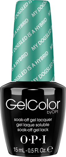 "OPI Гель-лак GelColor ""My Dogsled Hybrid"", 15 мл"