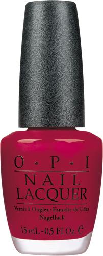 OPI Лак для ногтей Chick Flick Cherry, 15 млNLH02Лак для ногтей OPI быстросохнущий, содержит натуральный шелк и аминокислоты. Увлажняет и ухаживает за ногтями. Форма флакона, колпачка и кисти специально разработаны для удобного использования и запатентованы.