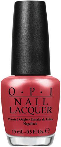OPI Лак для ногтей Go with the lawa flow, 15 млNLH69Лак для ногтей OPI быстросохнущий, содержит натуральный шелк и аминокислоты. Увлажняет и ухаживает за ногтями. Форма флакона, колпачка и кисти специально разработаны для удобного использования и запатентованы.