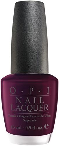 OPI Лак для ногтей Black Cherry Chutney, 15 млNLI43Лак для ногтей OPI быстросохнущий, содержит натуральный шелк и аминокислоты. Увлажняет и ухаживает за ногтями. Форма флакона, колпачка и кисти специально разработаны для удобного использования и запатентованы.