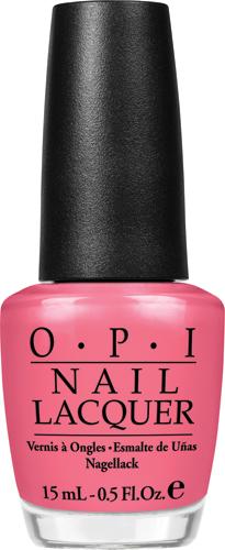 OPI Лак для ногтей Strawberry margarita, 15 млNLM23Лак для ногтей OPI быстросохнущий, содержит натуральный шелк и аминокислоты. Увлажняет и ухаживает за ногтями. Форма флакона, колпачка и кисти специально разработаны для удобного использования и запатентованы.