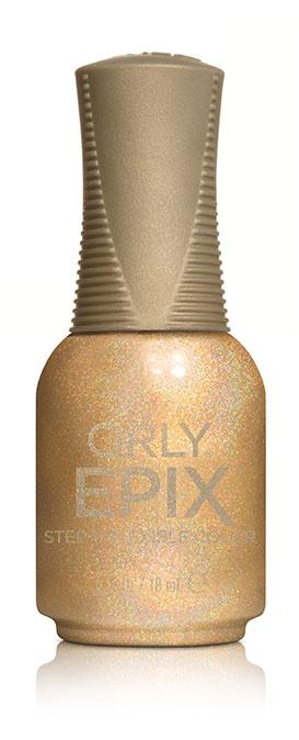 Orly Эластичное цветное покрытие EPIX Flexible Color 933 SPECIAL EFFECTS, 18 мл29933Двухфазная эластичная система Flexible Color System - это новейшая запатентованная технология последнего поколения от ORLY, объединившая функции лака для ногтей и гибридных гелевых покрытий. Она обеспечивает прочное эластичное покрытие благодаря содержанию инновационных амортизирующих полимеров. Технология Flexible Color System подразумевает взаимное сцепление цветного лака и верхнего покрытия. Оба препарата системы EPIX дополняют друг друга и действуют вместе. А простое нанесение без подтеков обеспечивается благодаря технологии Smudge-Fixing, которая содержит полимеры, делающие покрытие эластичным и гибким, словно натуральные ногти. Лак быстро выравнивается, исключая смазывание во время нанесения. И еще один плюс, который все женщины оценят по достоинству - инновационная кисть ORLY EPIX. Она обеспечивает точное нанесение и идеальную ровную линию возле кутикулы.Максимальный контроль за результатом гарантирован: • 600 щетинок + плоская кисть • Максимально точное нанесение • Гладкое и плотное покрытие в одно касание кисти • Изогнутый контур кисти для безупречной линии возле кутикулыEPIX от ORLY сочетает все лучшие свойства в одном покрытии – эластичное покрытие без сколов, словно единое целое с ногтями.Как ухаживать за ногтями: советы эксперта. Статья OZON Гид
