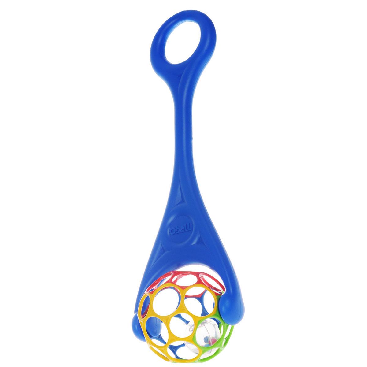 Oball Игрушка-каталка, цвет: синий развивающие игрушки oball мячик на присоске