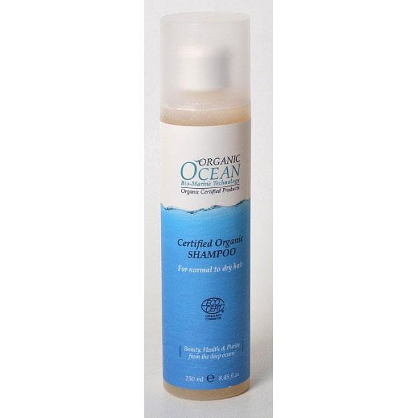 Organic Ocean Шампунь для нормальных и сухих волос, 250 мл20895Шампунь обогащен органическим соком АЛОЭ ВЕРА бережно очищает волосы, насыщает кожу головы витаминами и микроэлементами. Органическое масло ШАЛФЕЯ нормализует естественный баланс кожи головы, помогает в борьбе с перхотью. Шампунь .предупреждает процесс сечения и ломкости сухих волос. Экстракты Альпийских трав ИССОП, БУДДЛЕЯ ДАВИДА, ТИМЬЯН защищают волосы от неблагоприятных внешних факторов, снимают раздражение, кожи головы, оказывают успокаивающее действие. Входящий в состав АРГИНИН предотвращает от выпадения волос, активизирует их рост, питает волосяные луковицы, укрепляет корни. Шампунь восстанавливает структуру волос от корней до самых кончиков, делая их блестящими и шелковистыми.