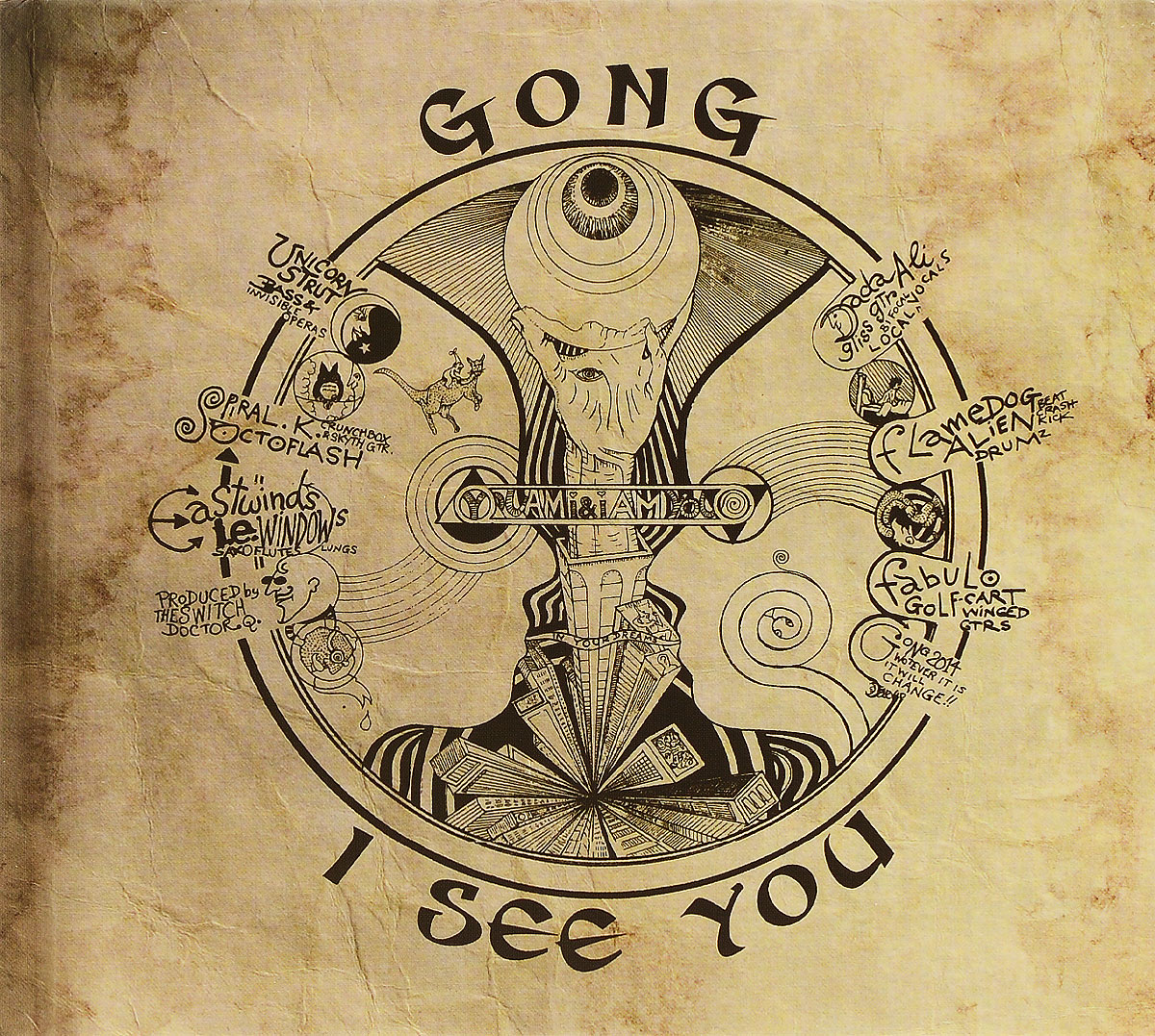 Gong Gong. I See You gong show 2018 04 01t18 00