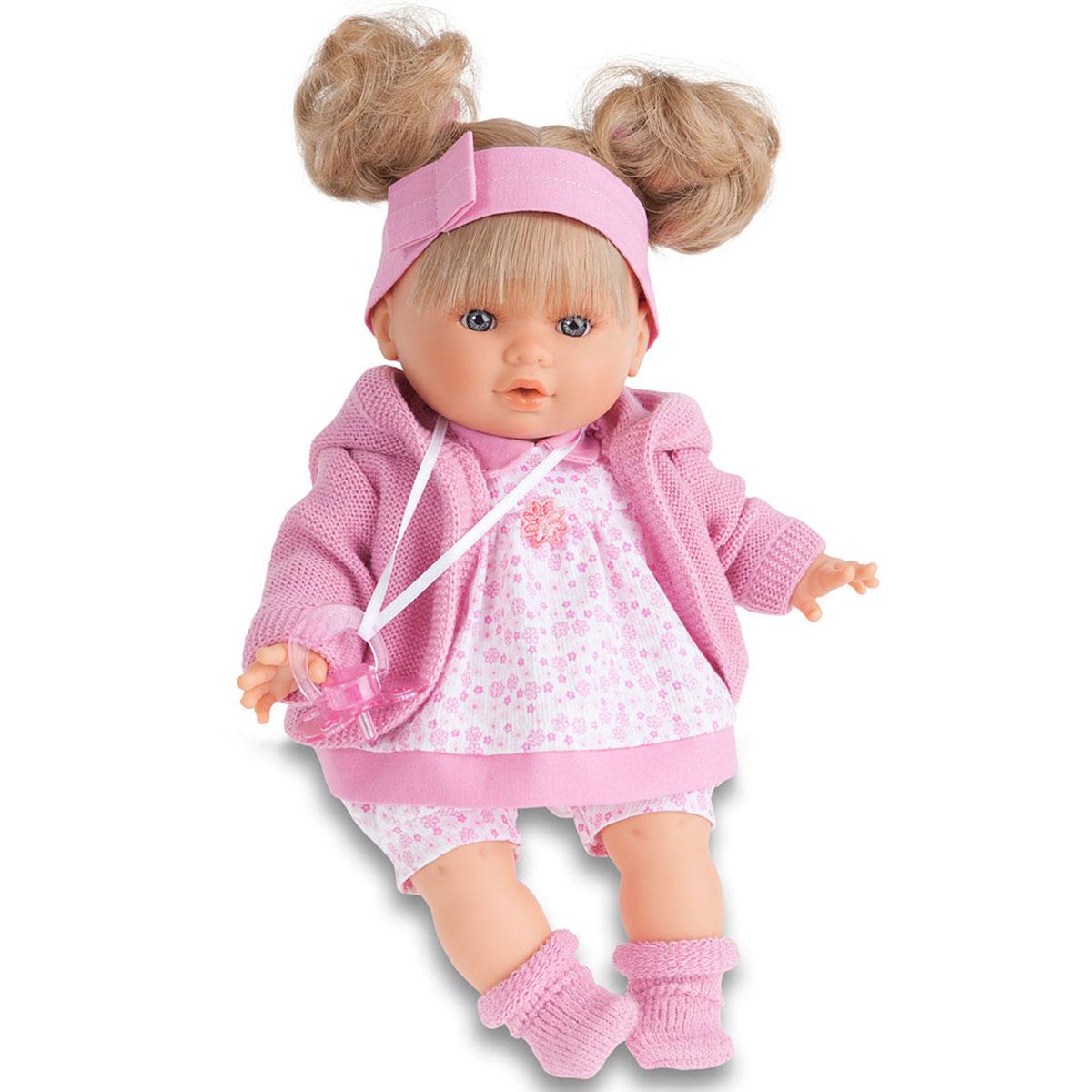 Juan Antonio Пупс Кристи в розовом костюме куклы antonio juan кукла рамон в синем озвученная 40см