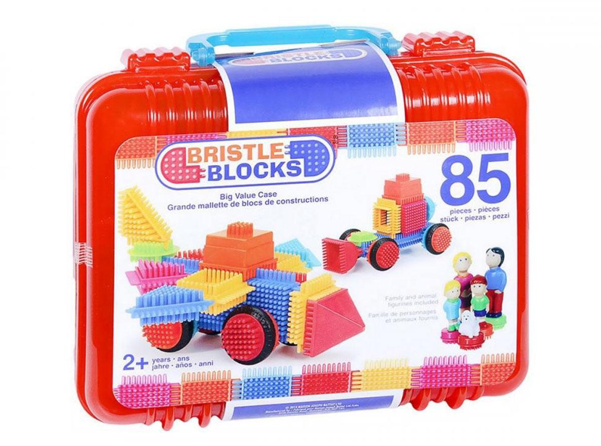 Bristle Blocks Конструктор игольчатый 85 деталей battat 2