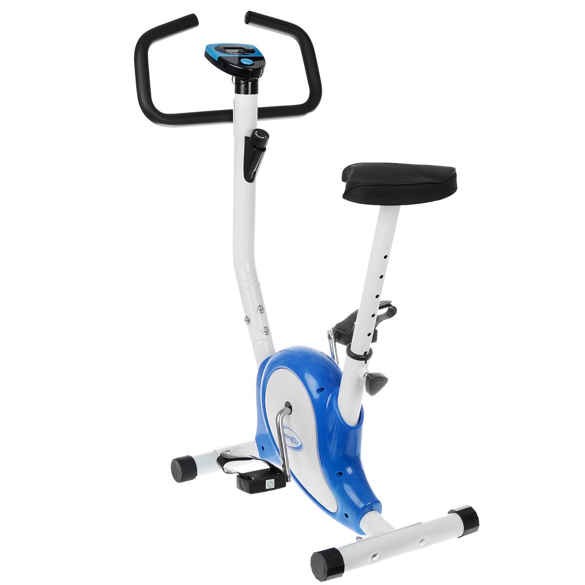 Велотренажер Sport Elit, 70 см х 46 см х 99 см велотренажер sport elit цвет серый синий 88 5 см х 47 см х 120 5 см