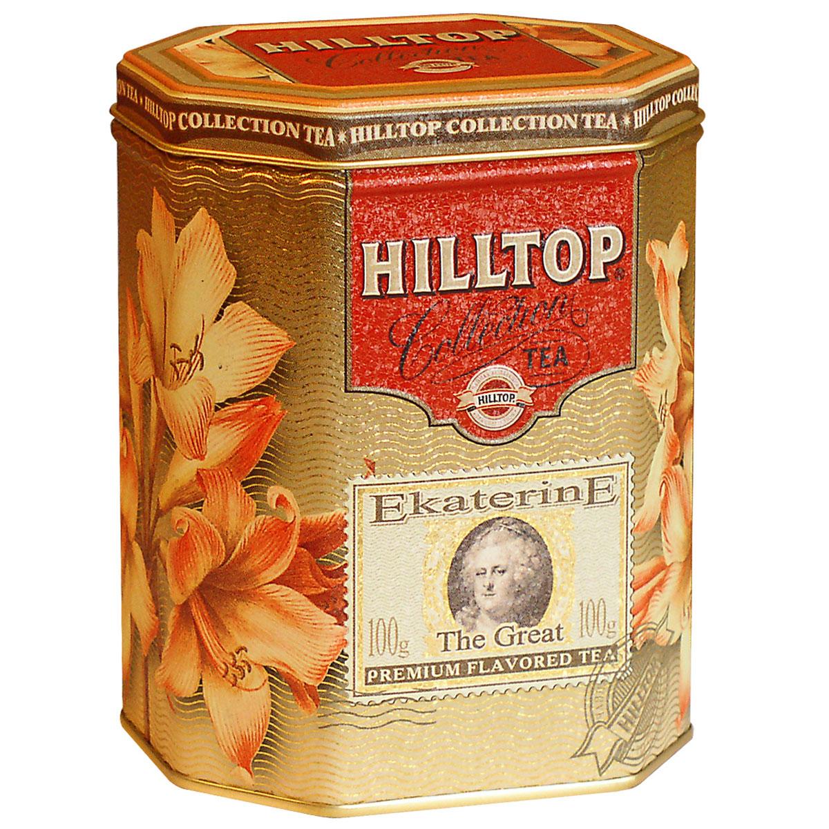 где купить Hilltop Екатерина Великая черный листовой чай, 100 г по лучшей цене