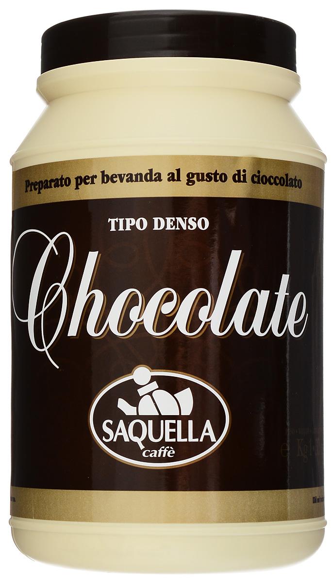 Saquella Chocolate горячий шоколад, 1000 г8002650002108Горячий шоколад на основе натурального какао Saquella Chocolate обладает правильной структурой и может быть приготовлен с добавлением молока, при этом можно легко варьировать консистенцию: от плотной массы до легкого напитка. Сливочный, нежный и обволакивающий вкус горячего шоколада не оставит равнодушным сластён любого возраста.