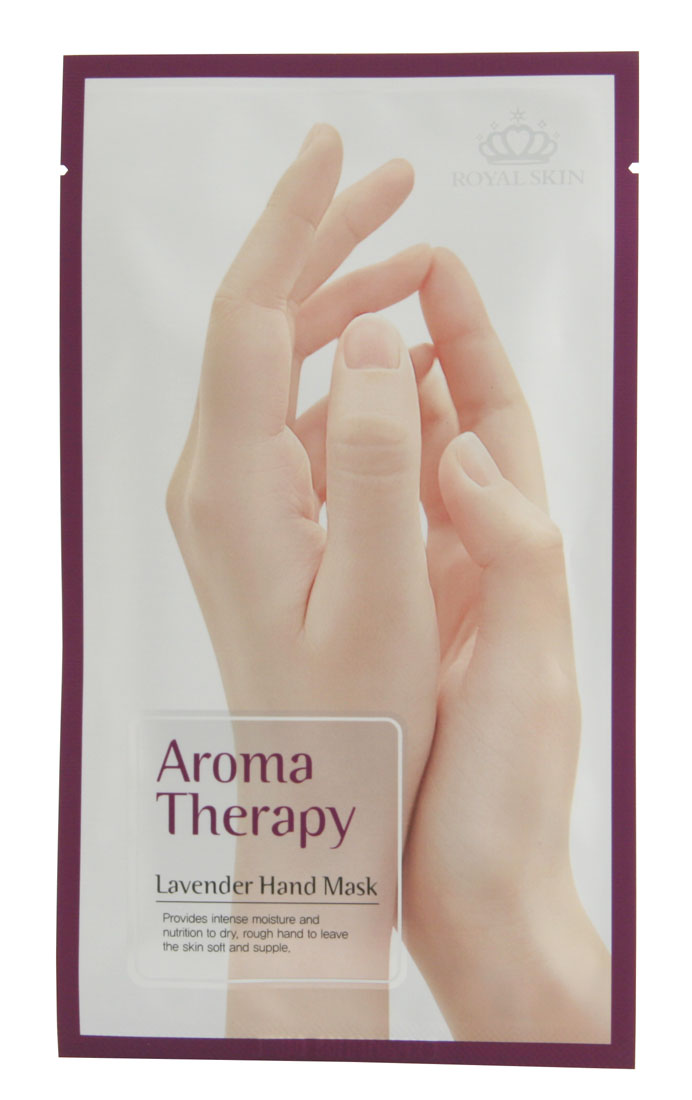 Royal Skin Увлажняющие перчатки для рук Aromatherapy lavender косметические маски royal skin биоцеллюлозная маска от морщин 24 карата золота с плацентой 35 гр