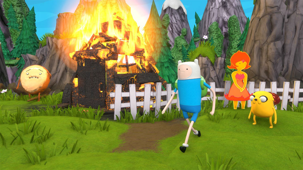 Adventure Time:  Finn and Jake Investigations (PS3) Vicious Cycle Software