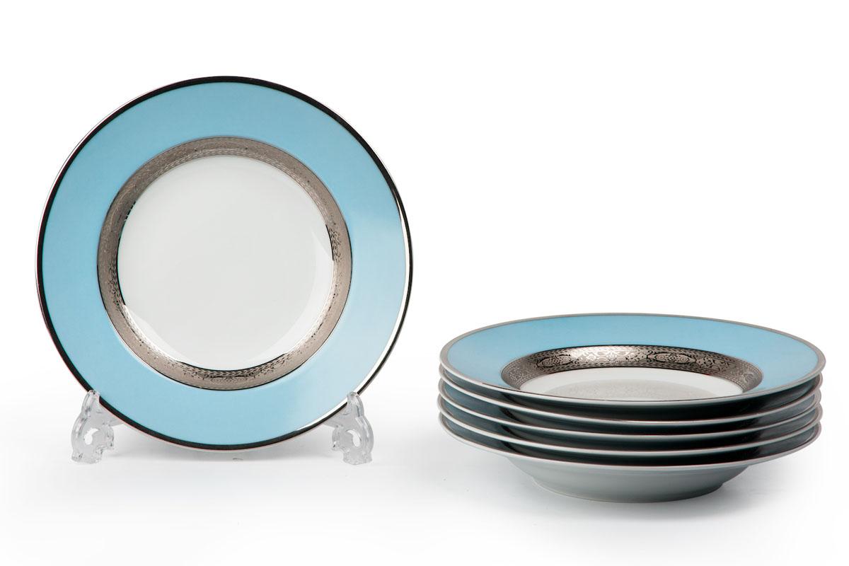 Набор десертных тарелок La Rose des Sables Mimosa, диаметр 22 см, 6 шт539117 1626Набор La Rose des Sables Mimosa состоит из шести десертных тарелок, выполненных из высококачественного фарфора. Изделия декорированы оригинальным принтом. Тарелки имеют круглую форму.Такой набор изящно украсит сервировку стола и порадует вас изящным дизайном. Диаметр (по верхнему краю): 22 см.