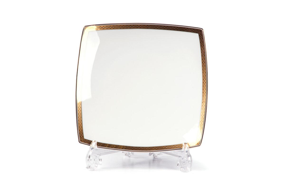 Kyoto 1554 Набор тарелок 26 см, 6 шт/уп, цвет: белый с золотом719100 1555В наборе тарелка 26 см 6 штук Материал: фарфор: цвет: белый с золотомСерия: KYOTO