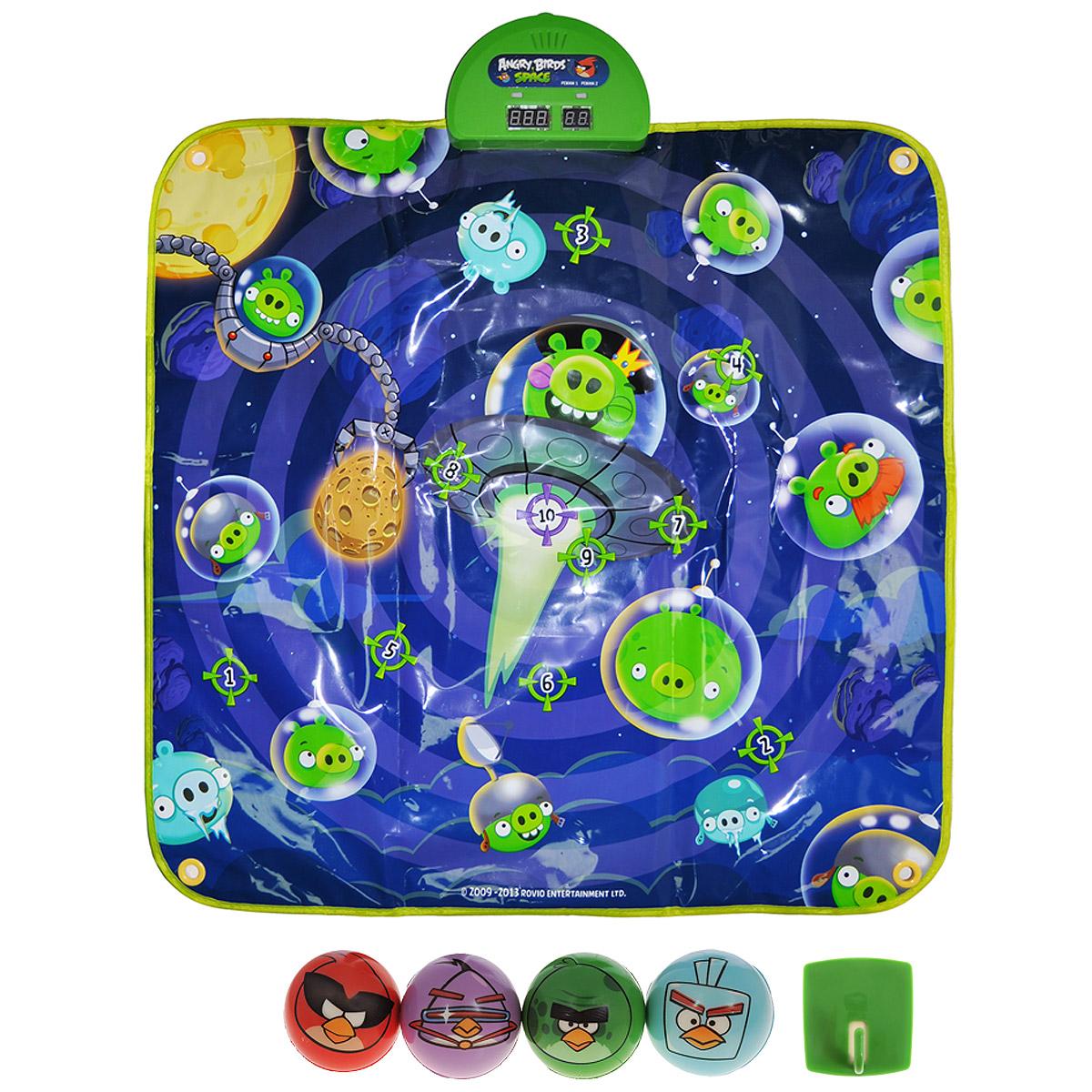 "Angry Birds Музыкальный коврик-игра ""Дартс Space"""