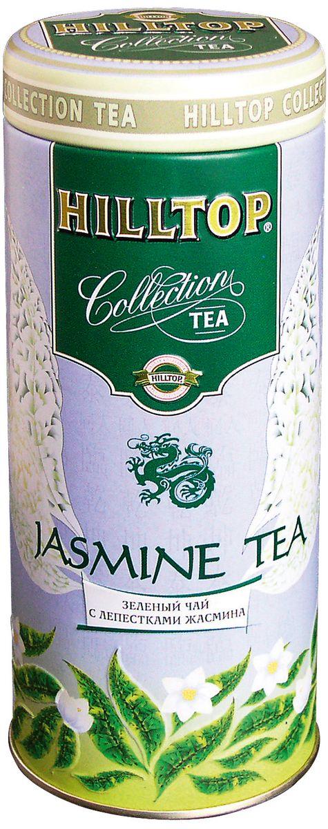 Hilltop Jasmine Tea зеленый листовой чай, 100 г greenfield jasmine dream зеленый ароматизированный листовой чай 200 г