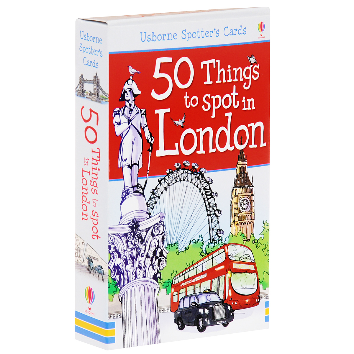 50 Things to Spot in London (набор из 52 карточек) 2017 new purse wallet female famous brand card holders cellphone pocket gifts for women money bag clutch