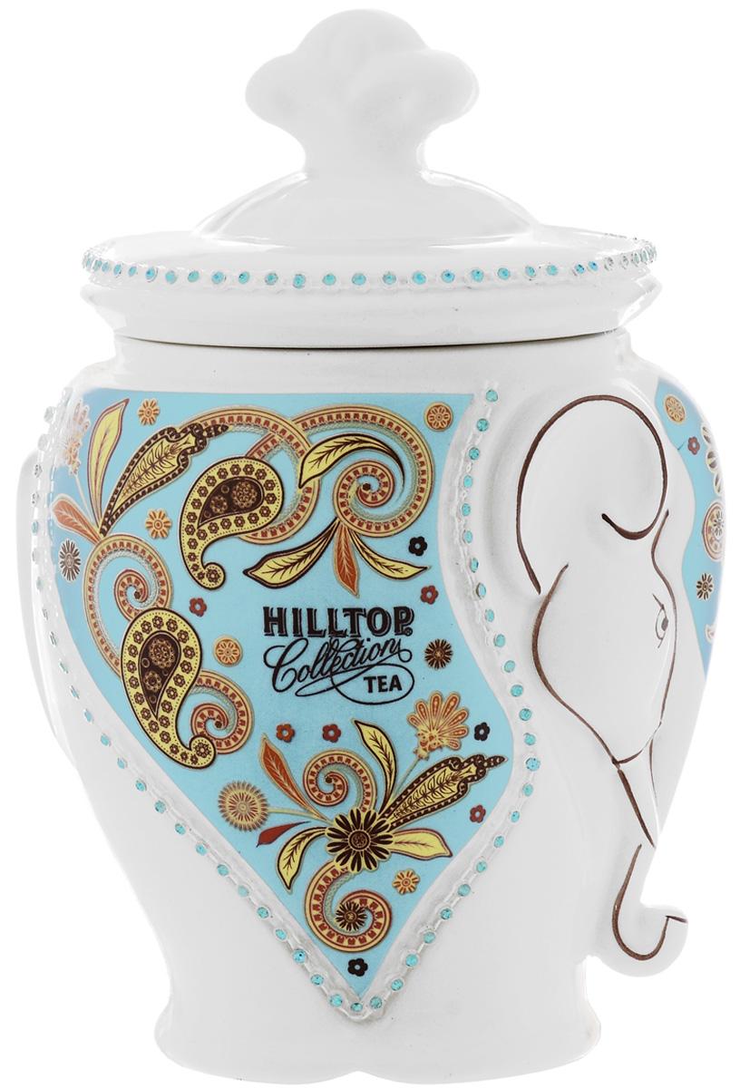 Hilltop Milk Oolong листовой улун в чайнице Слон, 100 г чай молочный улун oolong tea 125g anxi tieguanyin tikuanyin oolong