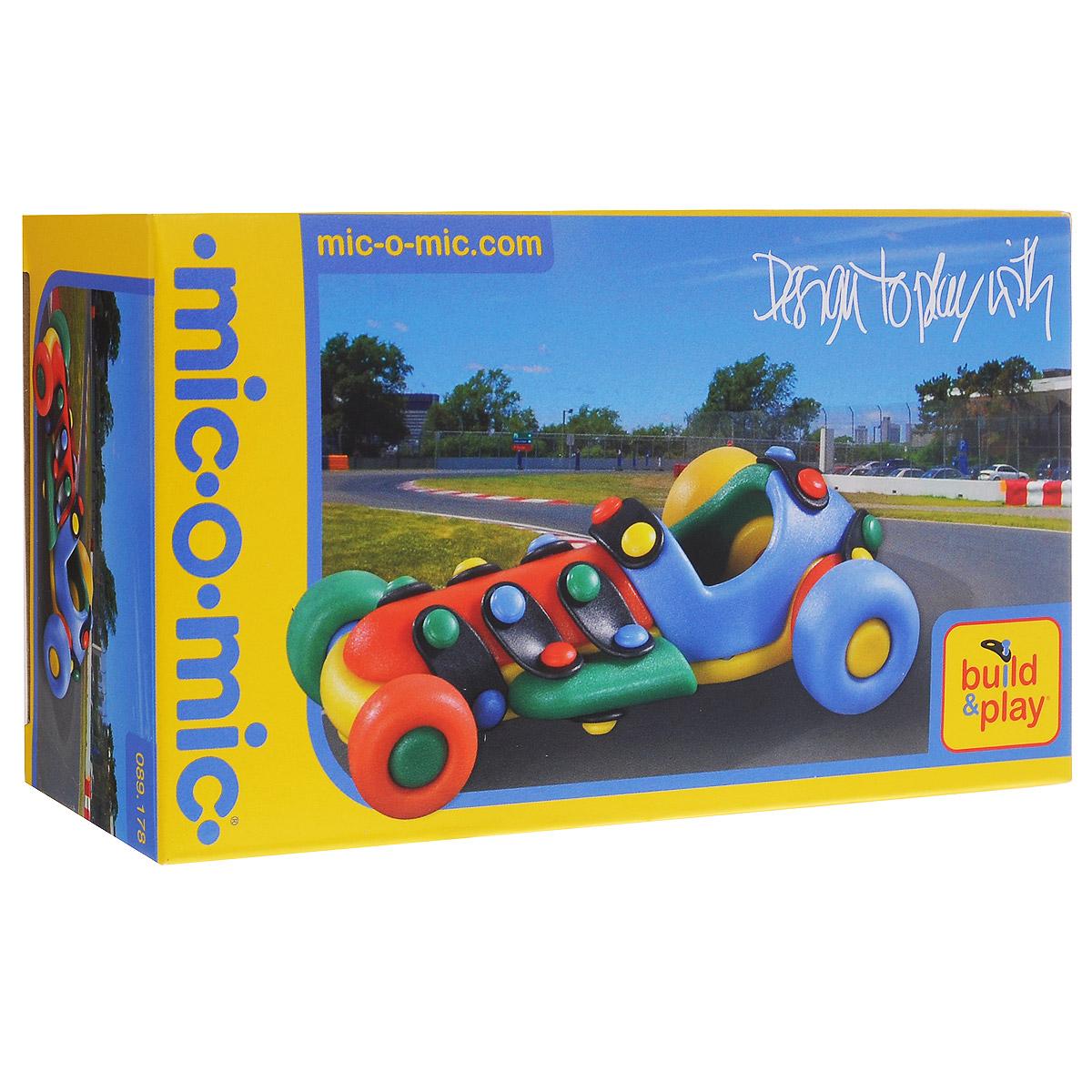 Mic-o-Mic Конструктор Машинка гоночная