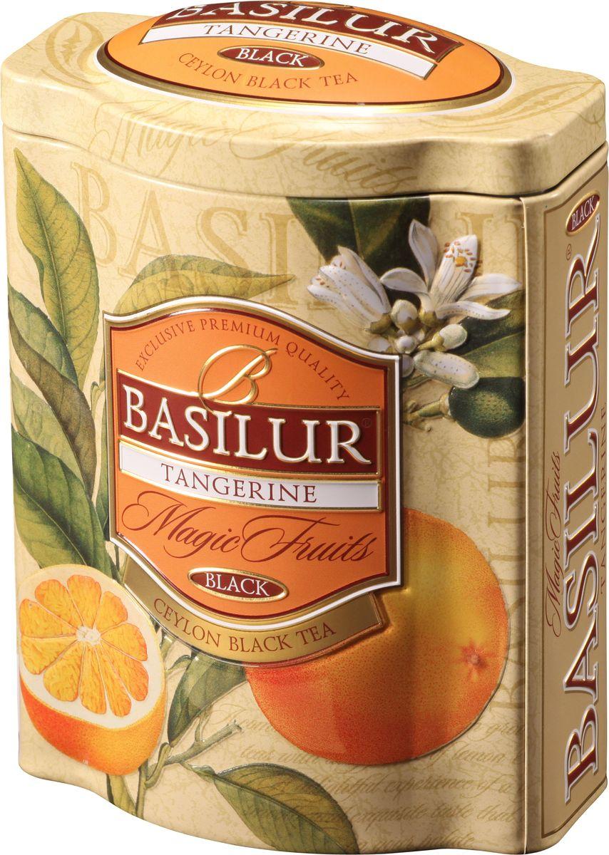Basilur Tangerine черный листовой чай, 100 г (жестяная банка) чайники и кофейники на кухню basilur