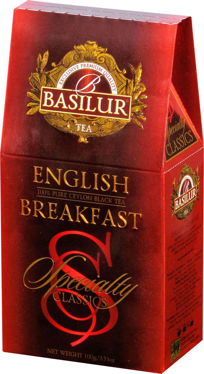 где купить Basilur English Breakfast черный листовой чай, 100 г по лучшей цене