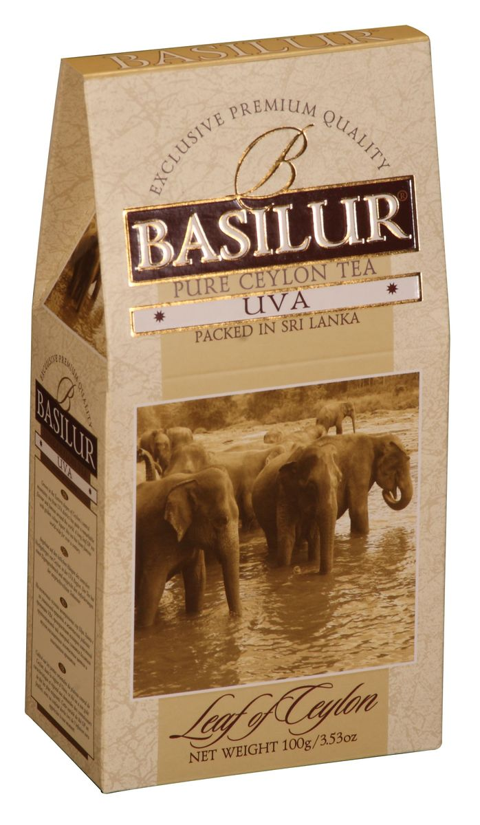 Basilur Uva OP черный листовой чай, 100 г greenfield чай greenfield классик брекфаст листовой черный 100г